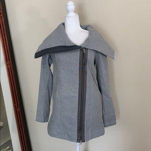 Lululemon Virasana Blanket Wrap Heathered Grey 8